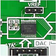 DAC7821 D/A converter