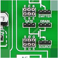 Transistor sockets