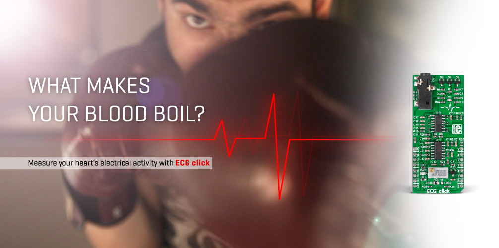 ECG click - what makes your blood boil?