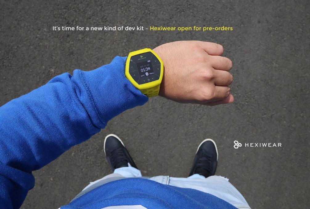 Hexiwear Smart Watch