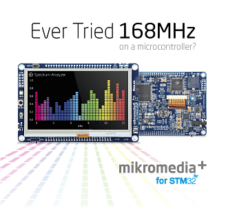 Ever Tried 168MHz on a microcontroller