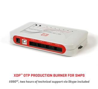 XDP OTP Production Burner for SMPS