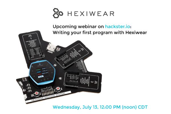 Hexiwear hackster