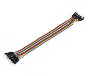 Ribbon Cable 16-wire, Male/Female, 20 cm