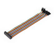 Ribbon Cable 26-wire, Female IDC/Female, 20 cm