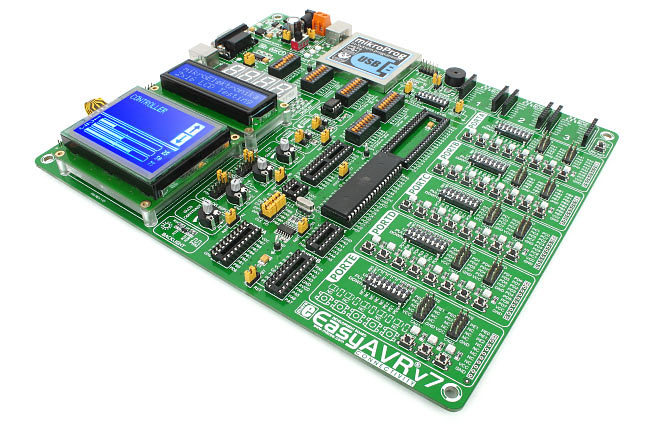 EasyAVR v7 - AVR Development Board