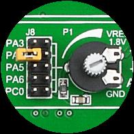 ADC potentiometers