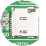 microSD card slot