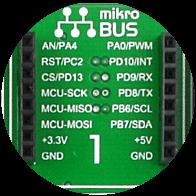 mikroBUS socket 1