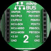 mikroBUS socket 2