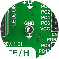 Oscilloscope GNDs