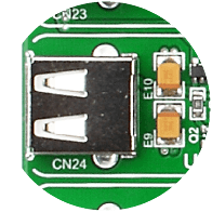USB host connector