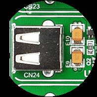 USB host connector