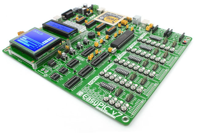 EasyPIC v7 - PIC Development Board