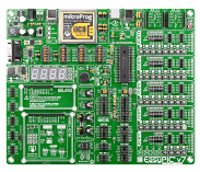 EasyPIC v7 board in antistatic bag