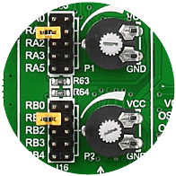 ADC potentiometers
