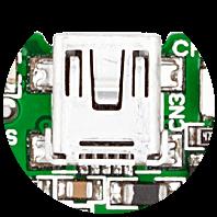 miniUSB UART connector