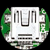 miniUSB connector