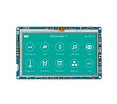 mikromedia 7 para el tablero STM32F4