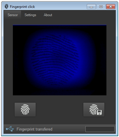 Fingerprint scanning