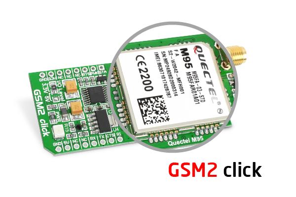 GSM2 click modems