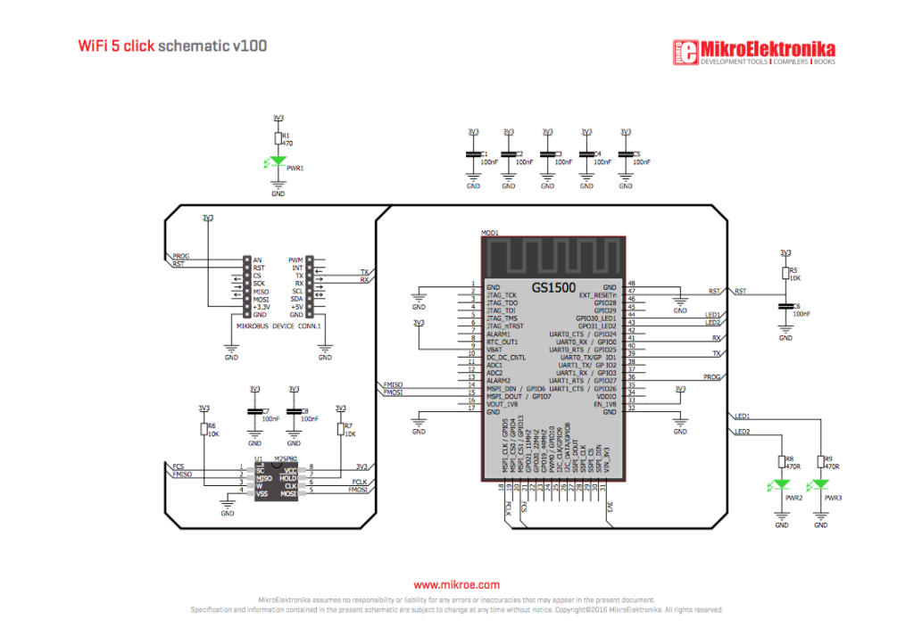 WiFi 5 click schematic 1024x722 gs1500u wiring diagram diagram wiring diagrams for diy car repairs  at webbmarketing.co