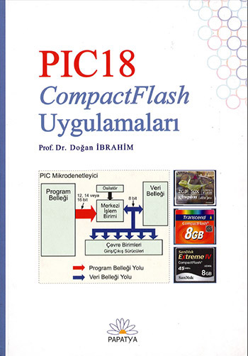 PIC18 Microcontroller And CompactFlash Memory Card Projects