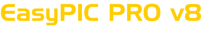 EasyPIC v8 logo