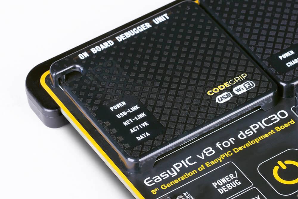 EasyPIC v8  for dsPIC30 CODEGRIP prog/debug