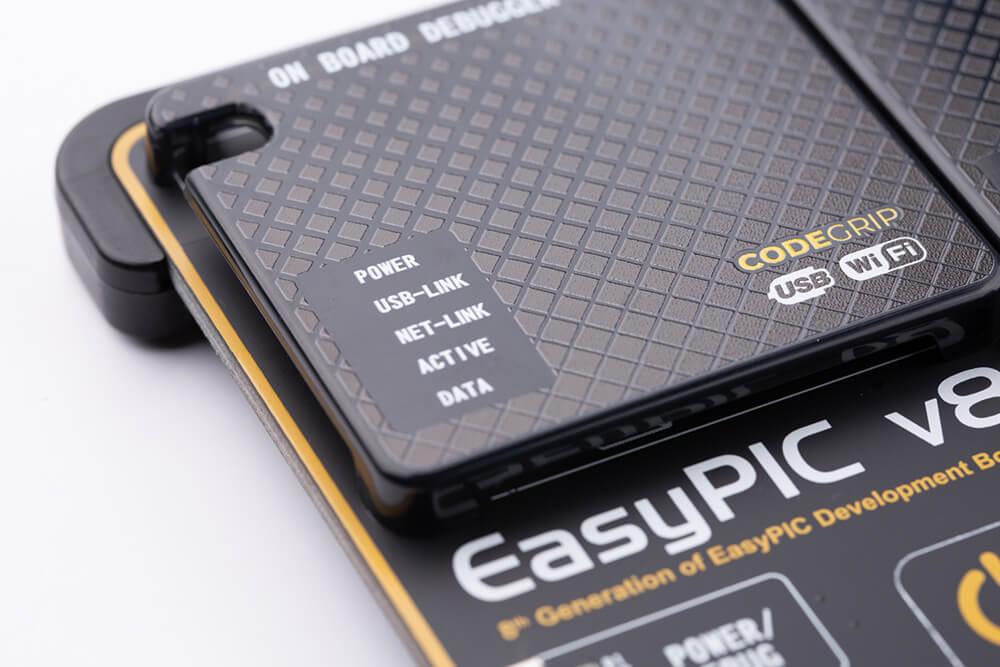 EasyPIC v8 CODEGRIP prog/debug