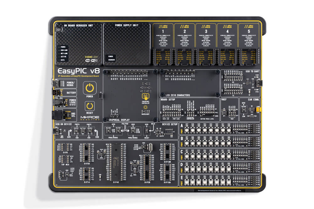 EasyPIC v8 development board