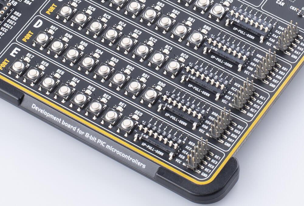 EasyPIC v8 Input/Output