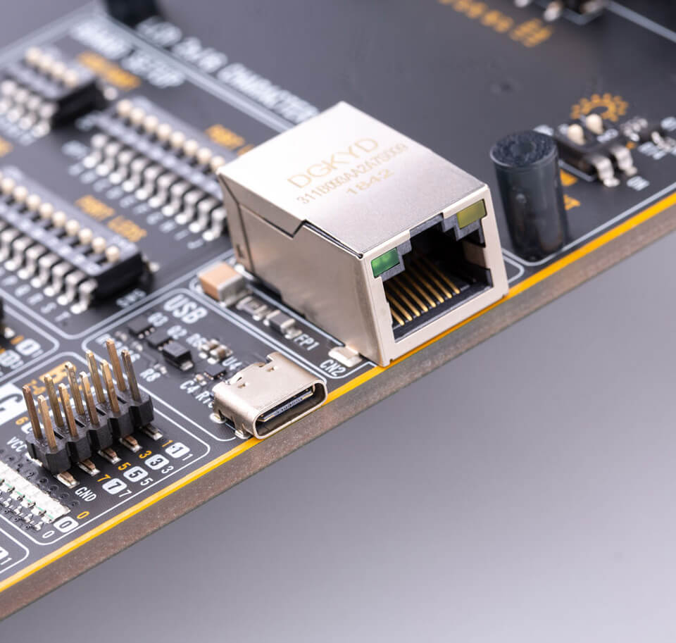 Ethernet and USB support on Fusion for ARM