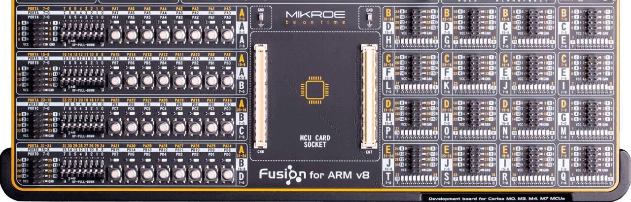fusion for arm I/O(Input/Output) section