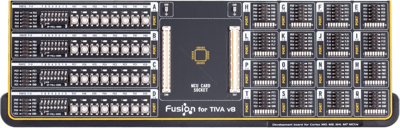 fusion for tiva I/O(Input/Output) section