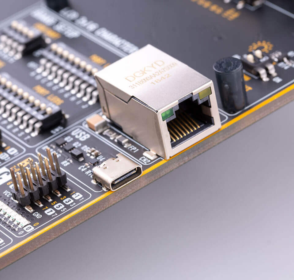 Ethernet and USB support on Fusion for PIC