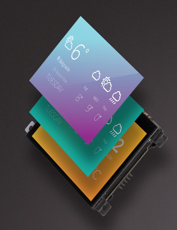 mikromedia 3 display graphic
