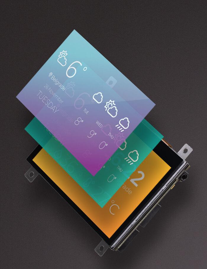 mikromedia 4 display graphic
