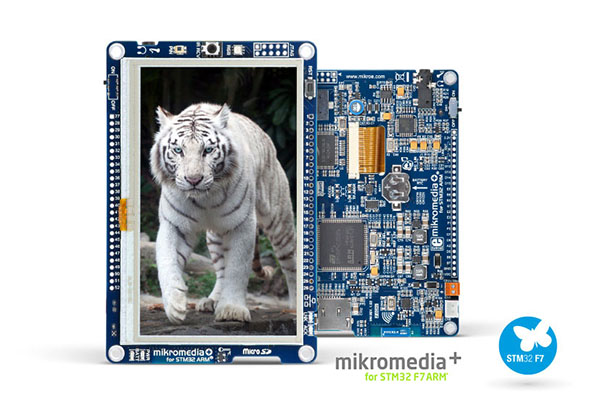 mikromedia for stm32f7