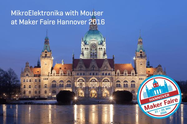 Maker Faire Hannover Hexiwear Mouser