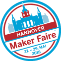 MikroElektronika at Maker Faire Hannover with Hexiwear, courtesy of Mouser
