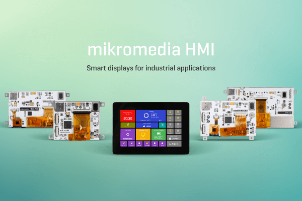 mikromedia HMI display