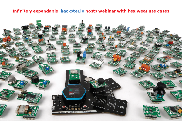 Hexiwear use cases webinar