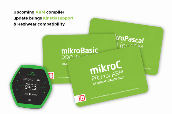 Kinetis coming to mikroC, mikroBasic and mikroPascal
