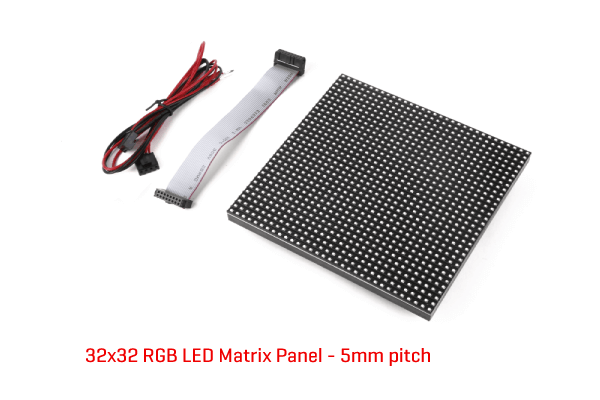 5mm pitch 32x32 RGB LED panel