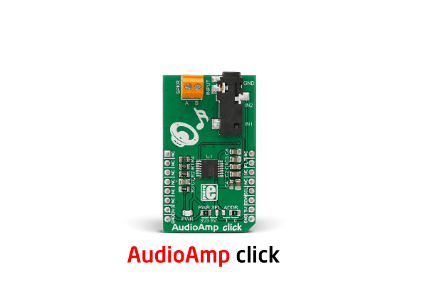 Audio Amp click