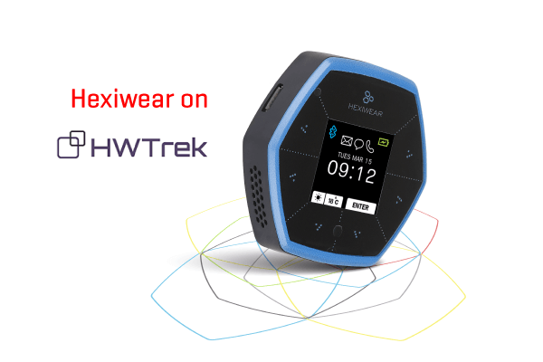 Hexiwear on HWTrek