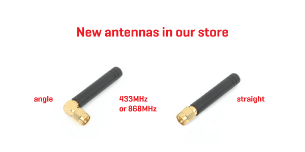 New antennas in the store