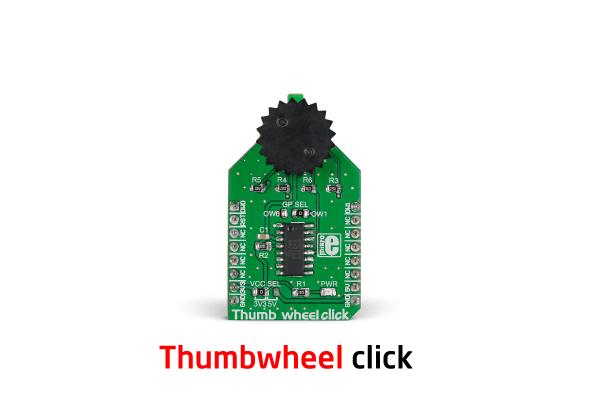 Thumbwheel click