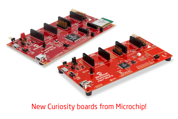 PIC32MX and PIC32MZ Curiosity boards